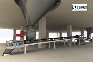 Jauhemaisen aineen varastointijärjestelmä